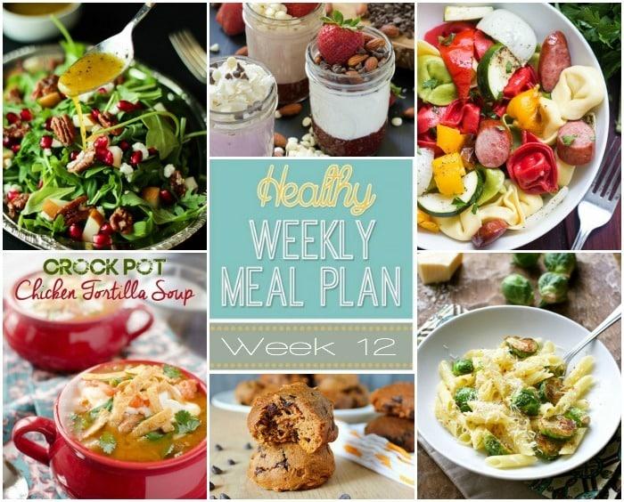 Healthy Meal Plan Week #12 Mariah\u0027s Pleasing Plates - breakfast lunch and dinner meal plan for a week