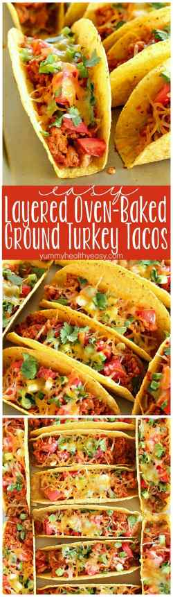 Sophisticated Ground Turkey Tacos That Are Refried Beans Layered Ground Turkey Tacos Yummy Healthy Easy Ground Turkey Tacos Black Beans Ground Turkey Tacos Martha Stewart Layers