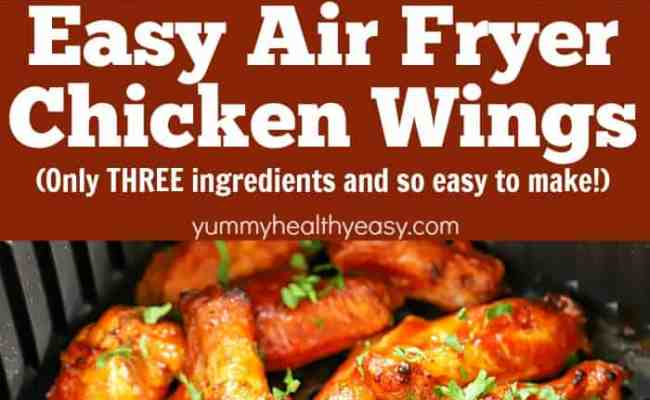 Air Fryer Chicken Wings Recipe Yummy Healthy Easy