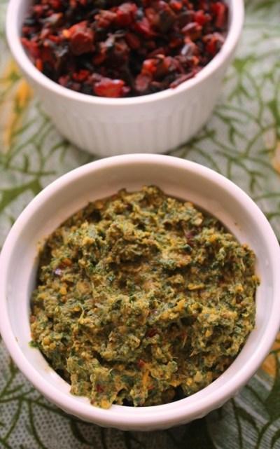 Vallarai Keerai Thuvaiyal Recipe / Vallarai Keerai Thogayal Recipe / Brahmi Leaves Chutney ...