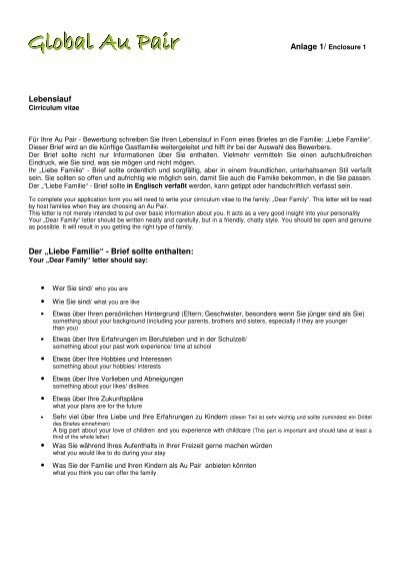Resume Format For Au Pair | Resume Maker: Create Professional