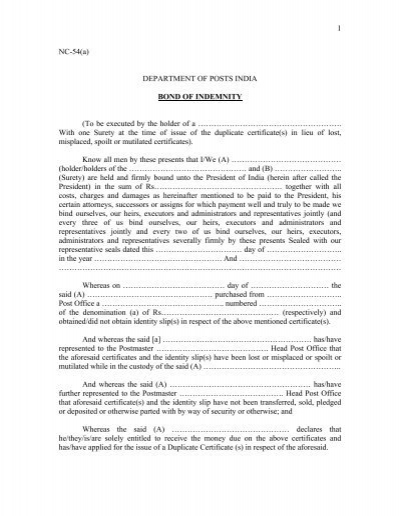 Indemnity Letter Template sample liability release form sports – Deed of Release Form