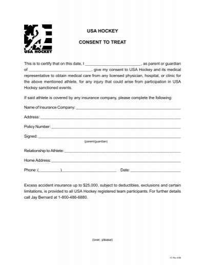 Consent To Treat Forms Sample Medical Consent Form Example Consent - sample child medical consent form