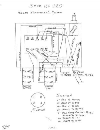 matsushitapressor wiring diagram 110v