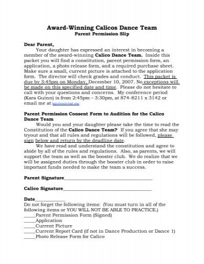 Hippa Release Forms 38 Written Authorization Privacy - parent release form