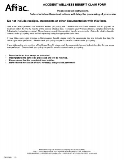 aflac claim form | lukex.co