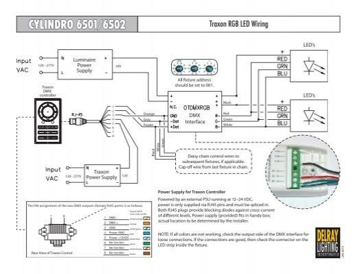 black white green 120 wiring