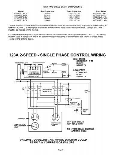 bristol compressor wiring diagram copeland compressors info cross