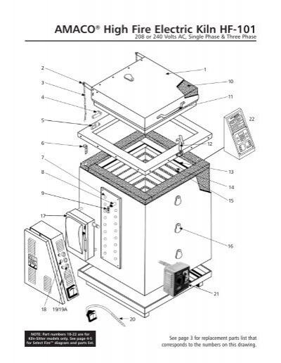 kiln sitter wiring diagram