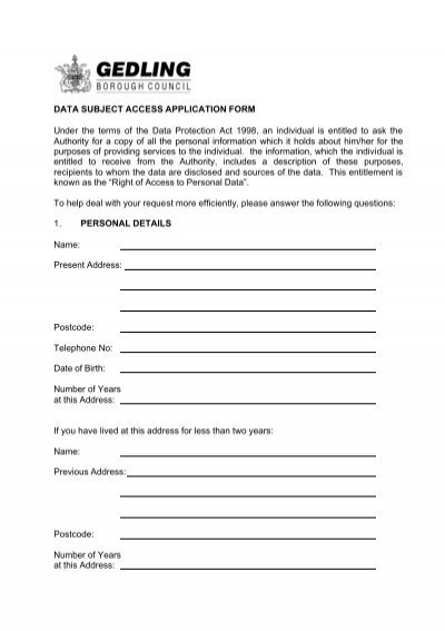 Data Access Request Form (OPS 003) - Office of the Privacy - access request form