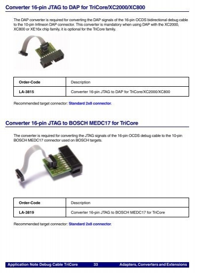 Adapters, Converters and - dap note
