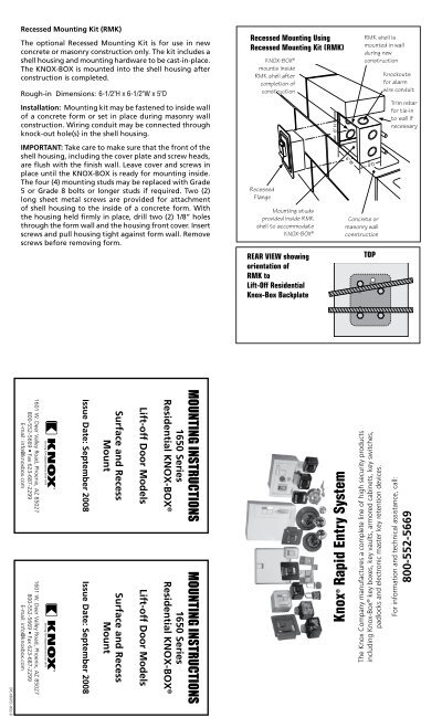 knox box 3502 wiring diagram