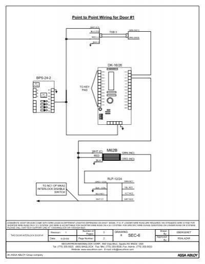 securitron wiring diagrams wiring diagram  securitron wiring diagrams #9