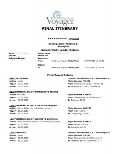 Event Itinerary Template Business Itinerary Template With - business itinerary template