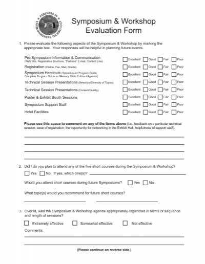 Workshop Feedback Form Elegant Seminar Evaluation Form Sample - seminar evaluation form