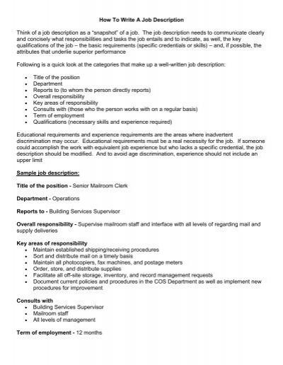 Shipping And Receiving Job Description Shipping Receiving Clerk - bank teller job description for resume