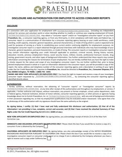 Employee Background Check Form - Architectu0027s Security Group, Inc - background check release form