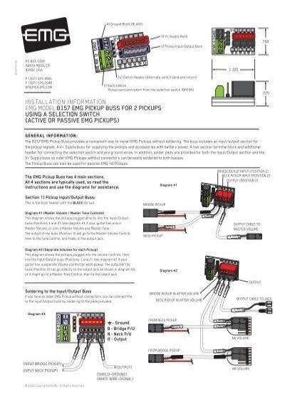 Emg Hz Wiring Diagrams - Somurich