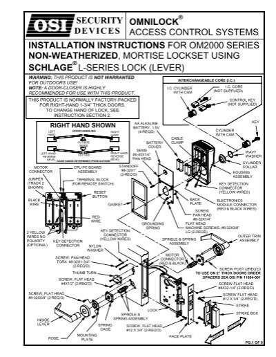 Saflok Wiring Diagram Index listing of wiring diagrams