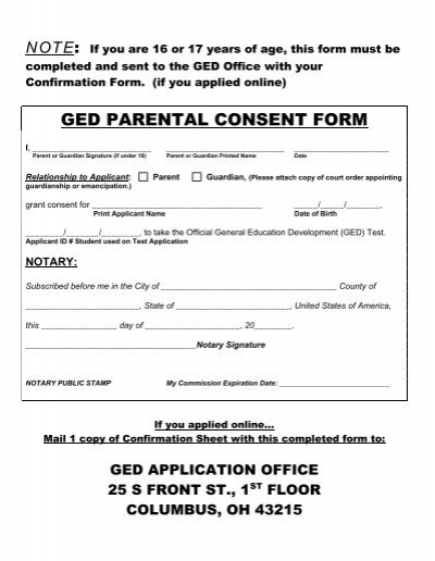 reply slip, together with the Parental Consent Form - Sir William - parent consent forms