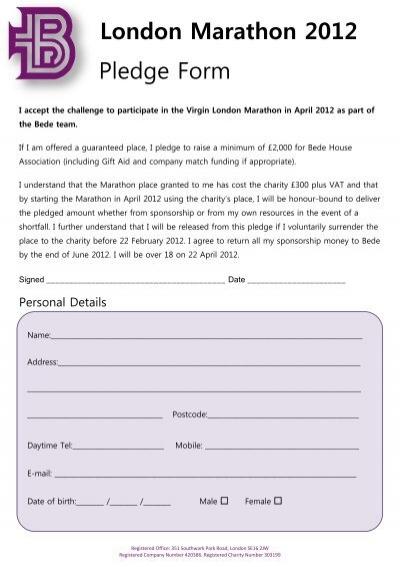 Pledge Form - Walk MS