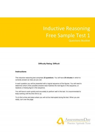 Numerical Reasoning Test 2 Questions (PDF) - Aptitude Test - aptitude test free