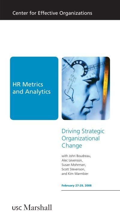 HR Metrics and Analytics Driving Strategic Organizational Change - hr metrics