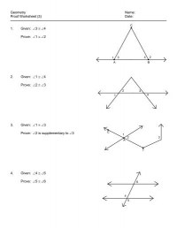 All Worksheets  Geometry Postulates Worksheets ...