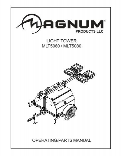 magnum light tower wiring diagram