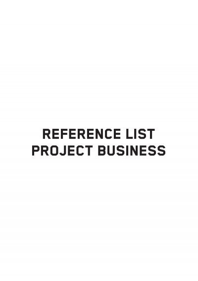 REFERENcE LIST PROJECT BUSINESS - Kapo