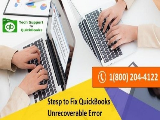 18002044122 How to Resolve QuickBooks Unrecoverable Error? - Quickbooks Unrecoverable Error