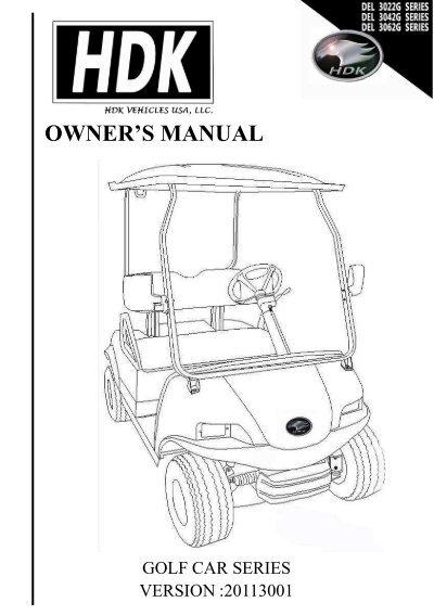 hdk golf cart wiring diagram