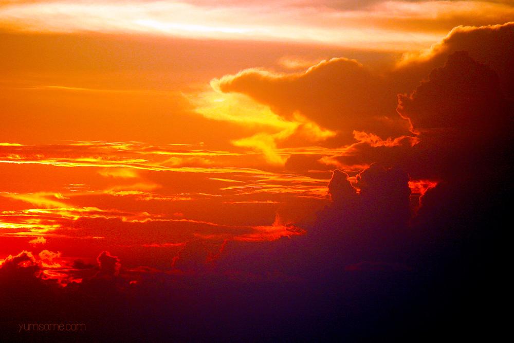 alleppey beach sunset