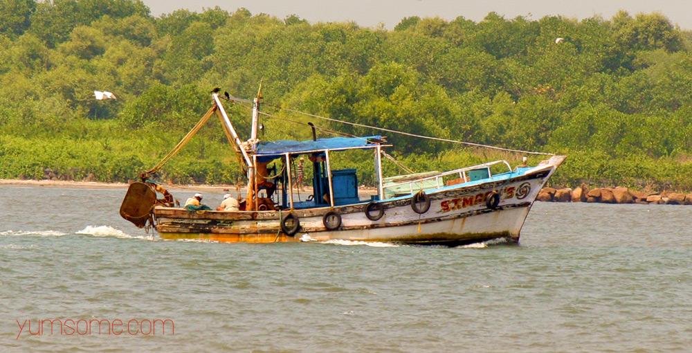 fort kochi fishing boat