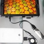 Windowsタブレットで充電しながらUSB機器を使う方法
