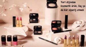 Yurt dışından kozmetik ürün, ilaç ya da kür sipariş etmek