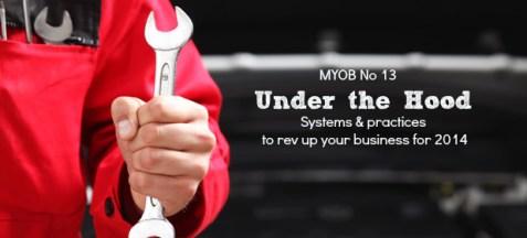 Under the Hood MYOB 13