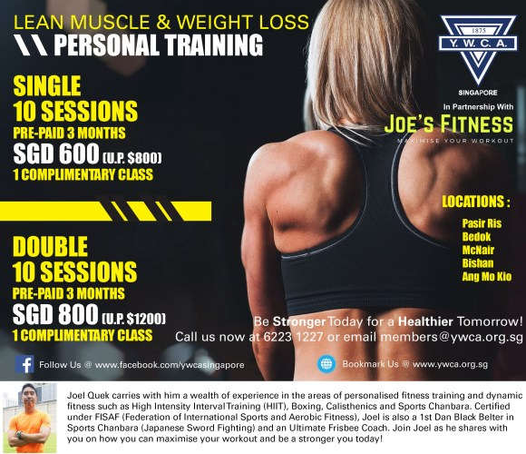 PT poster with trainers profile