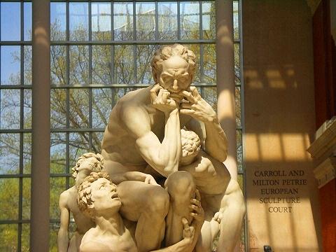 USA New York Metropolitan Museum of Art Sculpture by Jean