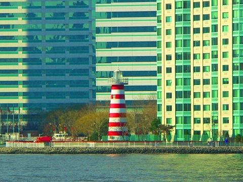 NY- Lighthouse in Lower Manhattan