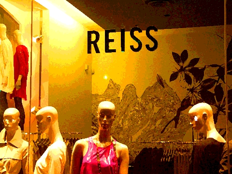 NY- Shops on Columbus Ave- Reiss- Upper Westside