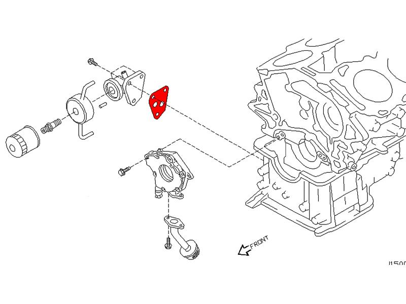 240sx fuel filter bracket