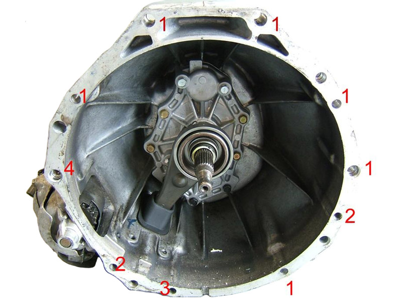 Manual Transmission -\u003e Engine Bolt Kit, Z1 Motorsports