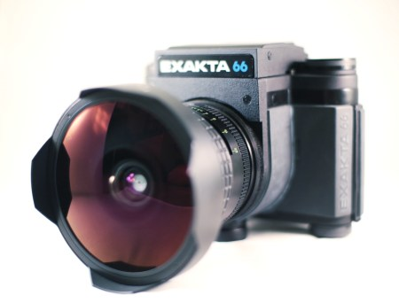 Exakta 66 camera and Arsat 30mm lens.  Photo by Zach Horton.