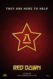 """Cartel de la película """"Amanecer Rojo"""""""