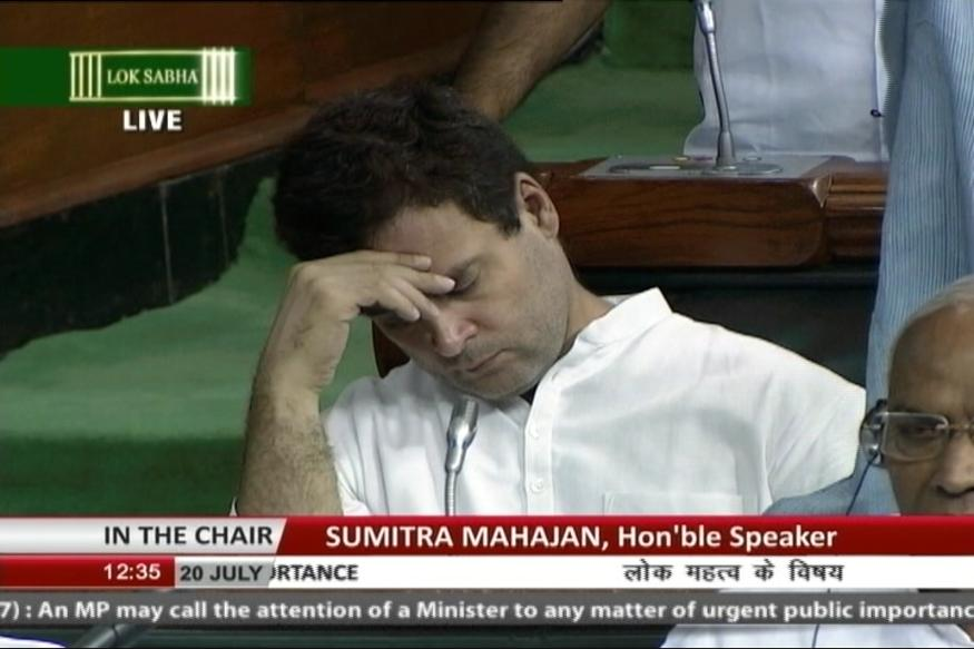rahul_sleeping_in_parl