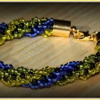 Bransoletka sznur turecki - po raz pierwszy na blogu