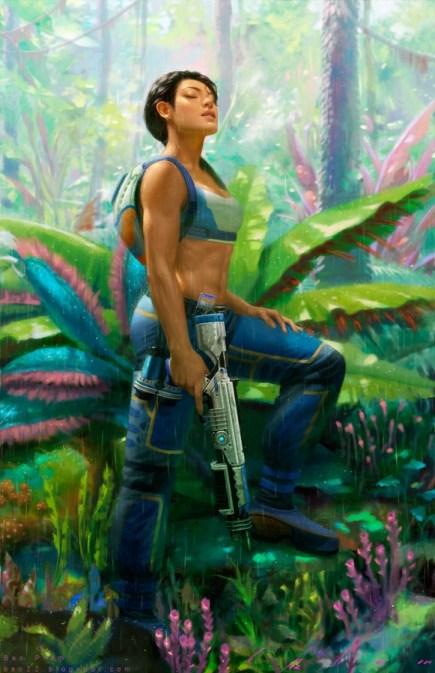 soldat fille pandora