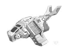 103-vaisseaux design concept dessin