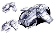 24-vaisseaux design concept dessin